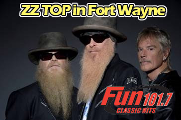 ZZ TOP in Fort Wayne