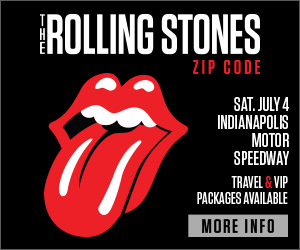 The Rolling Stones at Indy Motor Speedway