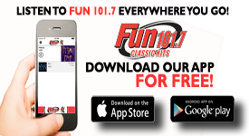 Dowload the Fun 101.7 App