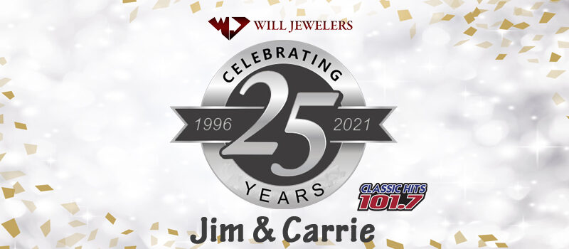 Celebrating 25 Years of Jim & Carrie