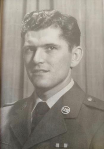 Fred K Thompson, United States Airforce, Airman 1st Class, 1956-1960.