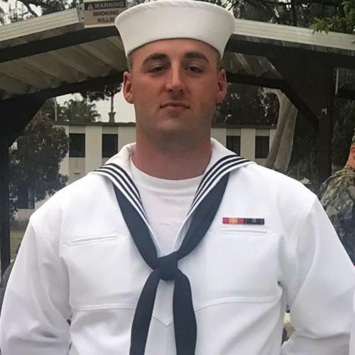 Jared L. Morris, US NAVY, Construction Mechanic, currently serving.