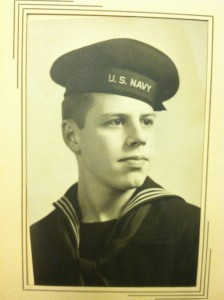 "John ""Jack"" Didier United States Navy WWII."